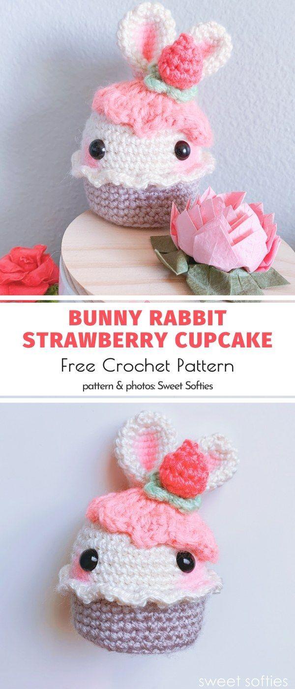 Sweet Amigurumi Cupcakes in 2020 | Crochet, Loom knitting ...
