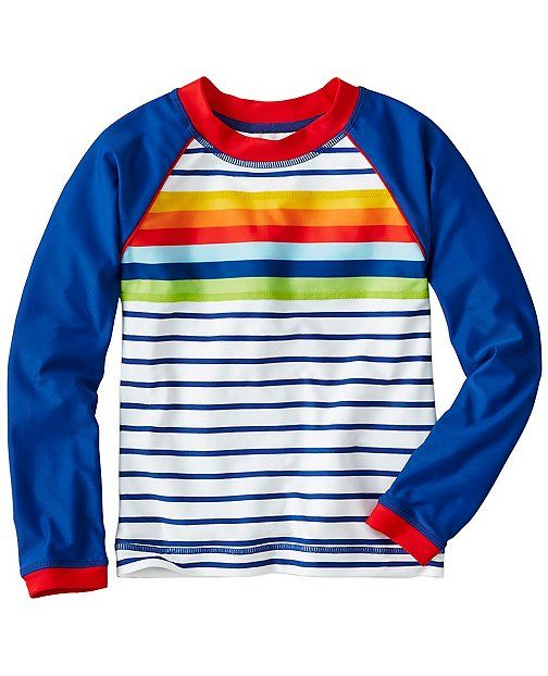 Another great rash guard from Hanna Andersson! Great colors! Sizes 12mo - 13 ye