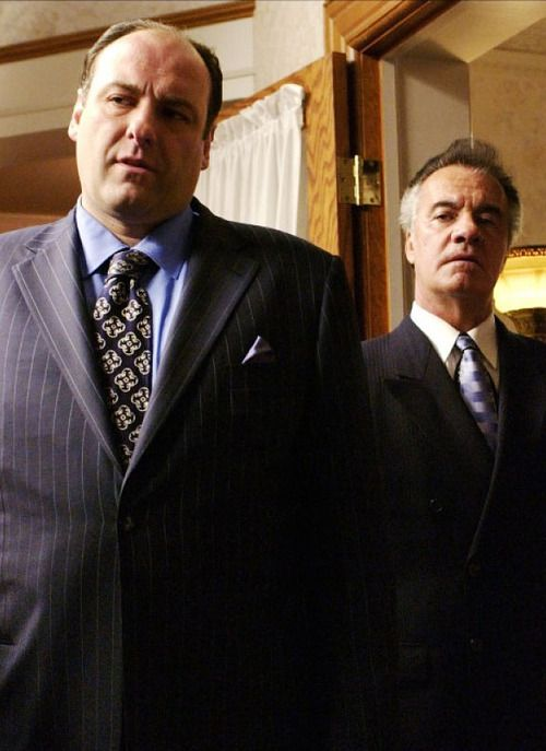 James Gandolfini and Tony Sirico The Sopranos | 1999