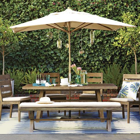WE - Jardin Dining set - 77x39 expandable to 100. Table, 4 chairs - $1695