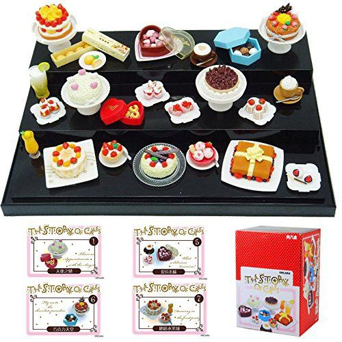 1 Set 1:12 Miniature Dollhouse (1-4 cm per piece) Package:This set minituatures pack in 8 small boxes. All small boxes pack in a big Gift box. Big Gift Box Size:5.7″x 4.5″x 8.2″ (…