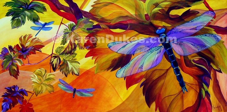 dragon03c by Karen Dukes: Mornings Dawn, Karen Dukes, Art Butterflies, Art Prints, Artists Inspiration, Vibrant Colors, Dawn Paintings, Beautiful Art, Colors Inspiration