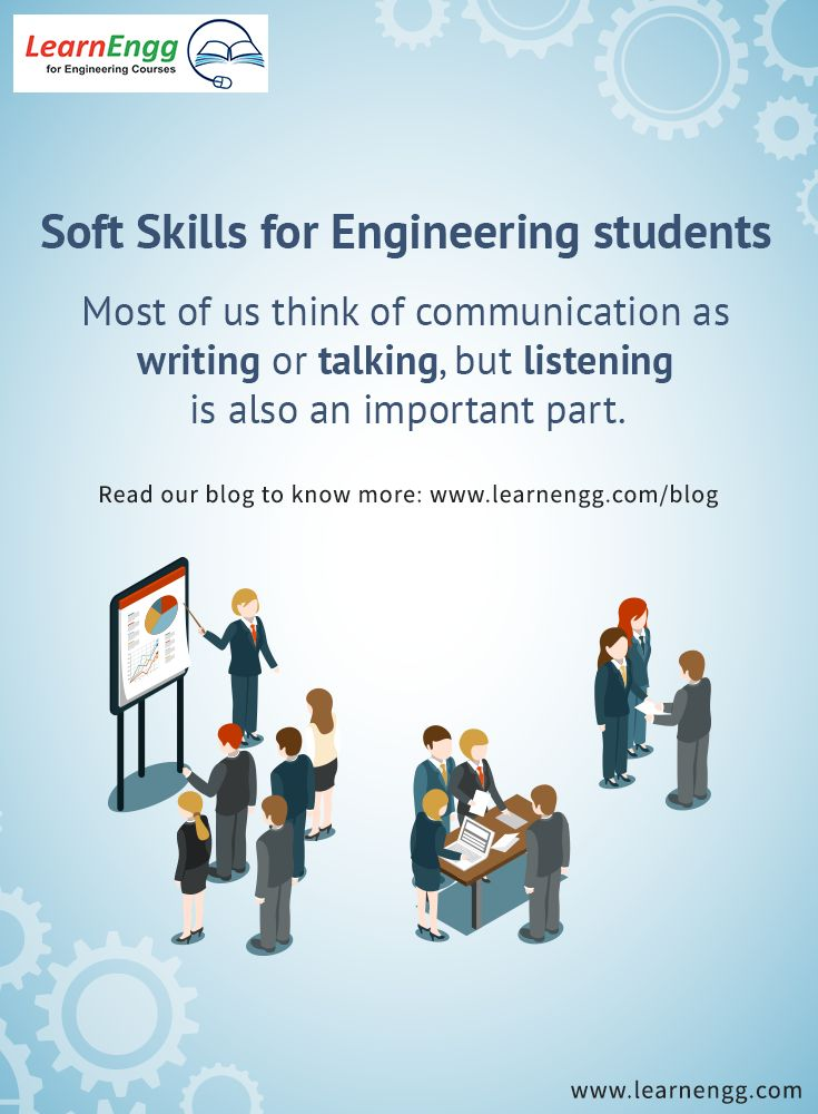 essay communication skills important engineer Free essay: the importance of effective listening skills in the workplace every business consists of a variety of communication activities such as listening.