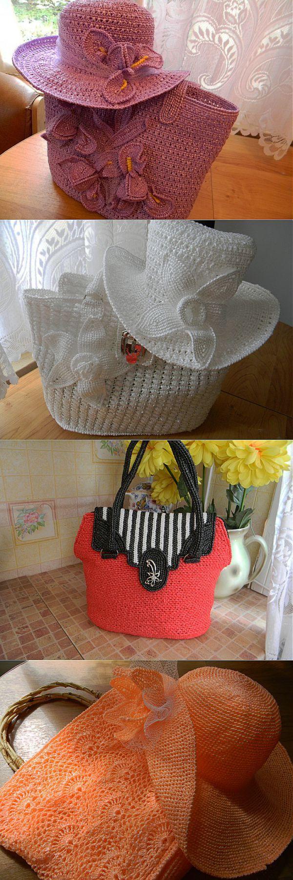 Сумочки из пакетов для мусора + мк | Варварушка-Рукодельница есть опис | вязание | Постила