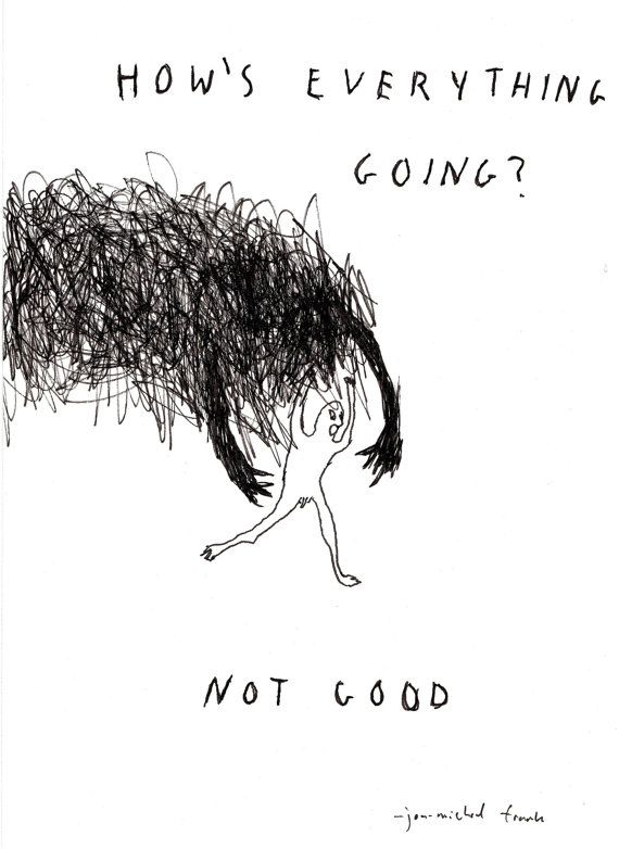 How's Everything Going Original Illustration by JonMichaelFrank