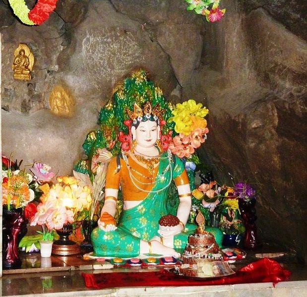 17 best padma yeshe images on pinterest buddha art buddhist art statue of princess mandarava at lake rewalsar we went up to the retreat caves where guru rinpoche and mandarava were in retreat fandeluxe Images