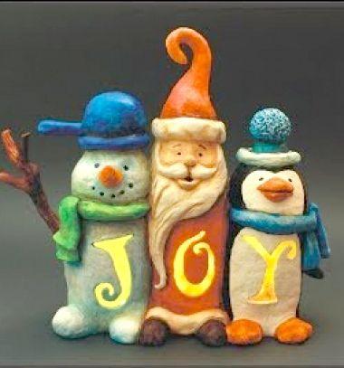 DIY Plastic bottle joy Christmas lantern (Santa,penguin & snowman) // Karácsonyi dekoráció műanyag palackból (hóember,pingvin,Mikulás) // Mindy - craft tutorial collection // #crafts #DIY #craftTutorial #tutorial #Clay #ClayTutorials #ClayCrafts #Gyurmázás