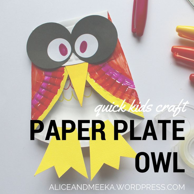 Quick and fun Owl diy craft for the kids.
