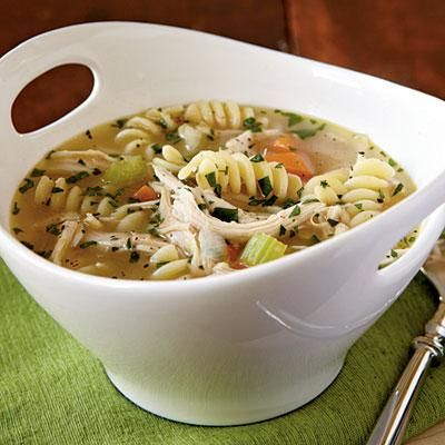 Quick Chicken Noodle Soup | Workout Plans | Pinterest