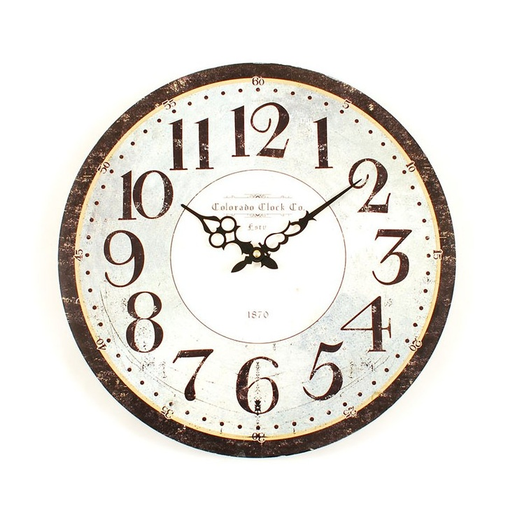 ashton sutton stm144 classic wall clock decor universe