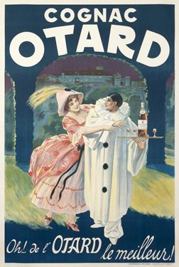 Artist Unknown poster: Cognac Otard