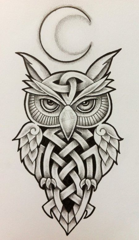celtic_owl_and_moon_by_tattoo_design-d6xvnmg