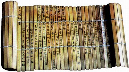 Oldest archaeological finds of bamboo articles in China were unearthed from the remains of a primitive society that existed some 7.000 yrs ago in what is now Hemudu,Yuyao County,Zhejiang Province.Early as Shang Dynasty(16th-11th century B.C)Chinese people used bamboo for making household articles& weapons,such as bows paper was invented,strips of bamboo were the most important writing medium,more widely used than silk for example-cheaper,resistant to corrosion, abundant