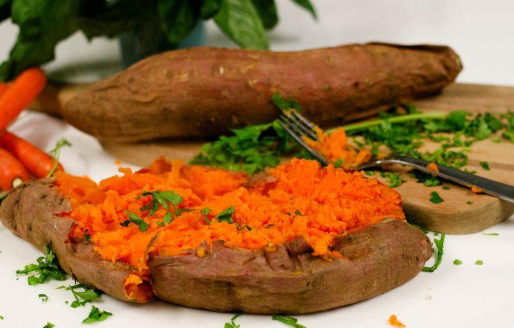 Roasted Mashed Sweet Potato
