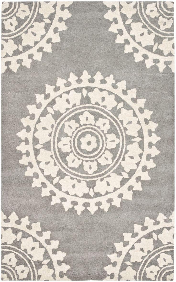 Safavieh Soho Light Grey/Ivory Area Rug | AllModern