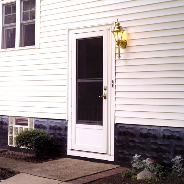 Storm door installation can add a protective, ventilating layer to the entry way of your door. Storm doors are needed to protect the beautiful distinction of your entry doors, as well as aid in their longevity and guard their finish. At Graboyes Window & Door, we can provide you with affordable storm door installation or repair services that will protect your existing door while lowering your energy bills.