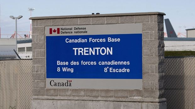 CFB TRENTON -- Canada's largest military air base. acouple of movies were filmed here. http://www.intelligencer.ca/2010/04/23/thriller-filmed-at-cfb-trenton