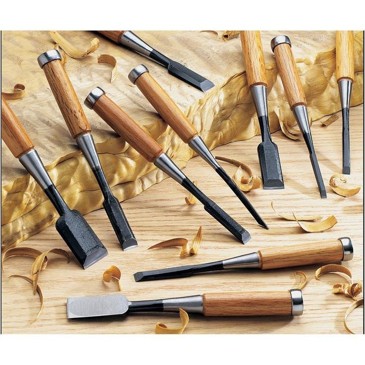 - These hand finished well balanced chisels feature laminated steel blades hardwood socket - The steel used in these chisel blades is made from a very hard high carbon alloy so hardness is Rockwell 63