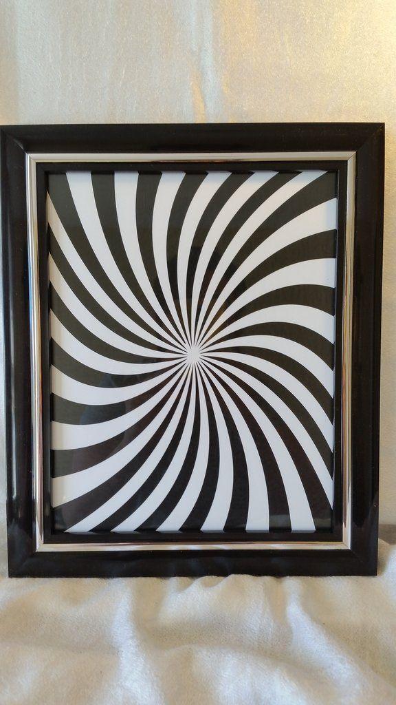 Hippie Swirl Framed Print - Baby See See