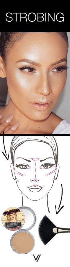 kick the contour to the curb and try strobing instead! ~ we ❤ this…