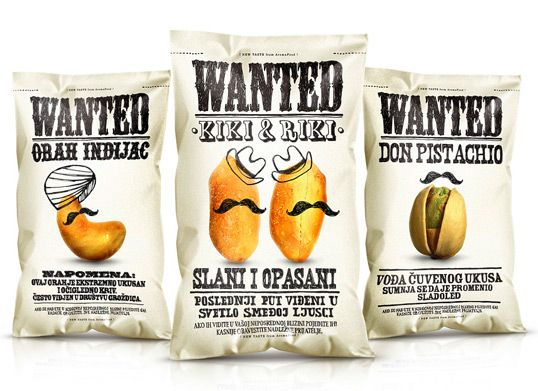 Potatoes packaging