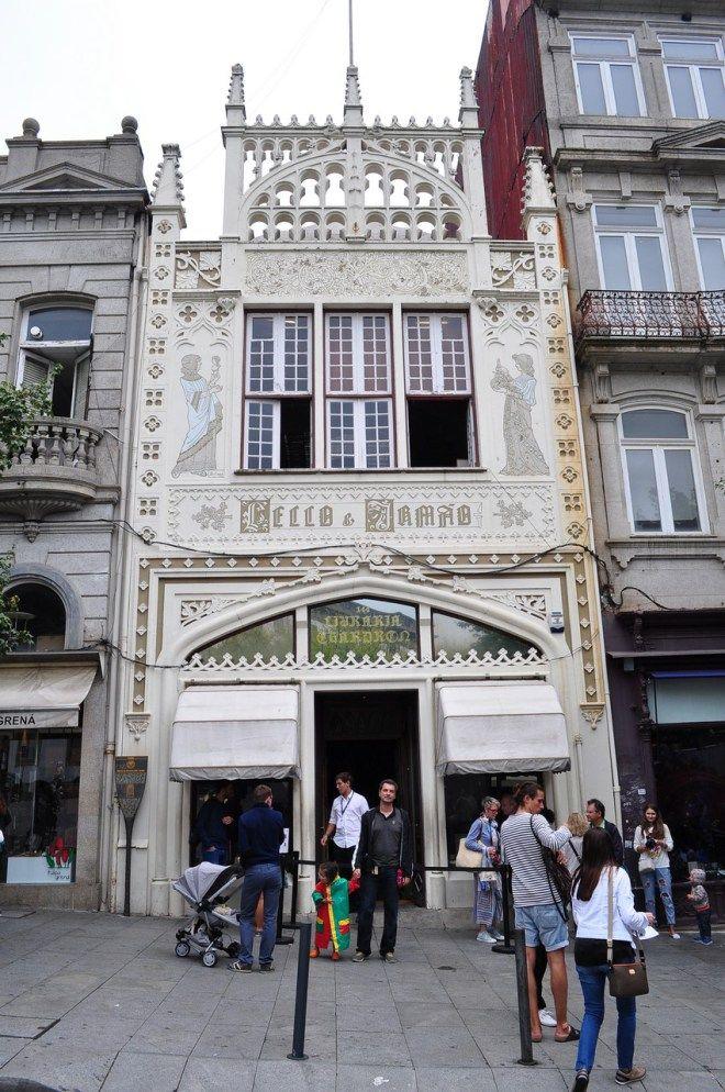 Porto, Portugal - Livraria Lello e Irmão