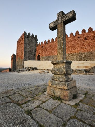 The Medieval Castle of Trancoso. Portugal