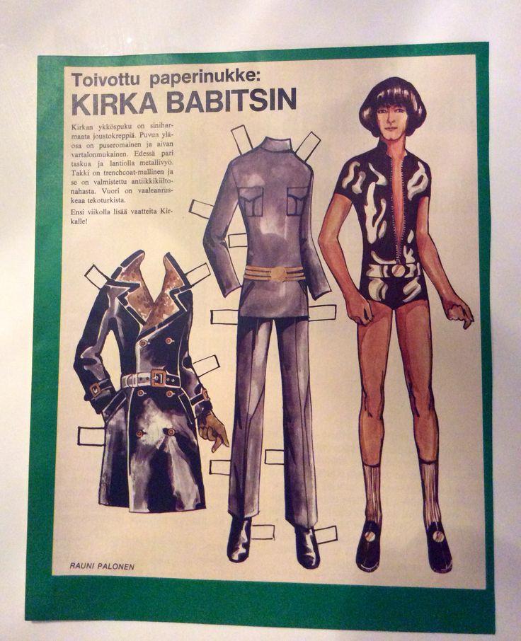 Paperdoll Kirka 1968