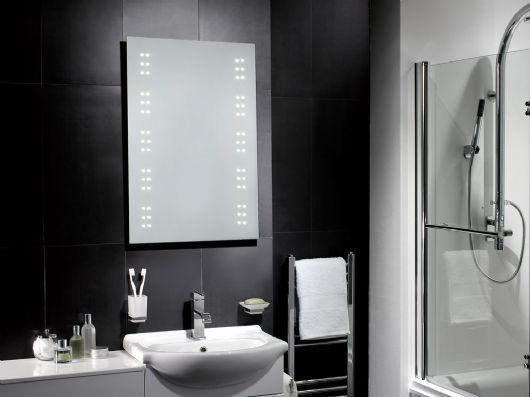 Leto LED Battery Operated Mirror Is A Brand New Addition To Our Range. No  Wiring