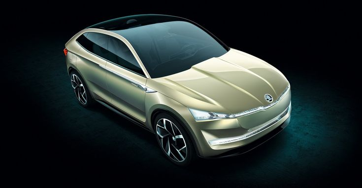 Skoda Vision E Coupe Crossover Concept: This Ιs Ιt