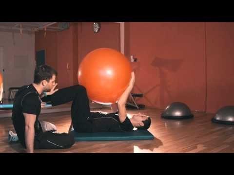 Jak posilovat hluboký stabilizační systém - YouTube