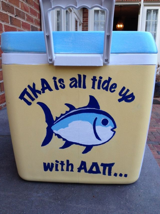 The Most Crafty Formal Coolers Around #Greek #Sorority #Fraternity #Formal #Crafting