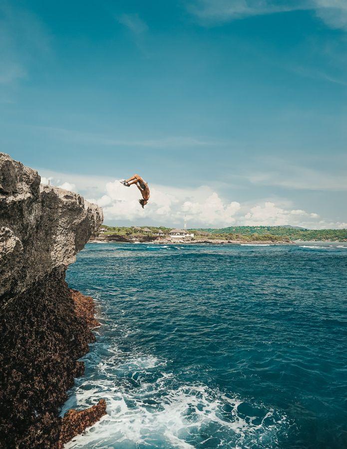Dream Beach Cliff Jump