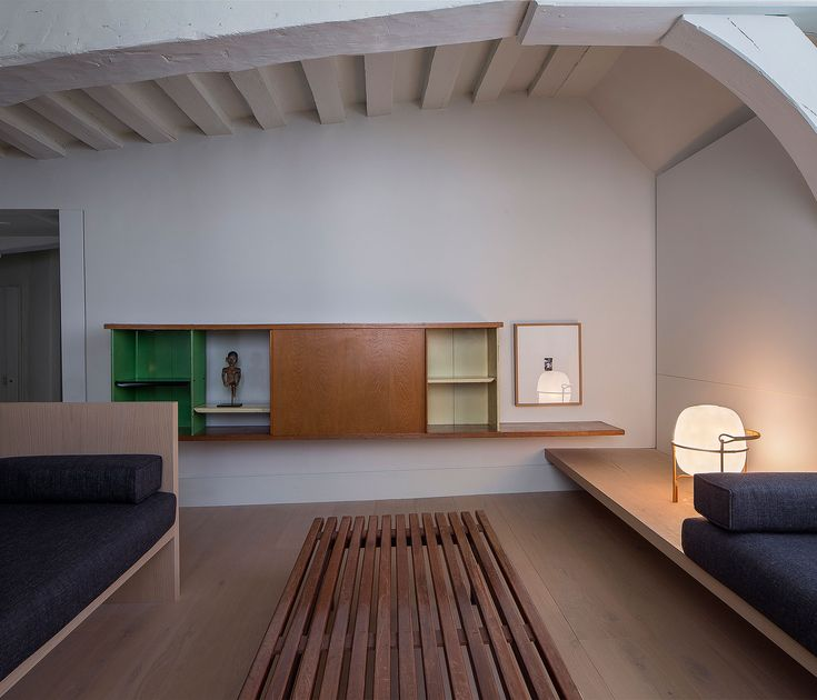 Heritage Apartment In Paris Renovated By Barcelona Based Francesc Rife  Studio.