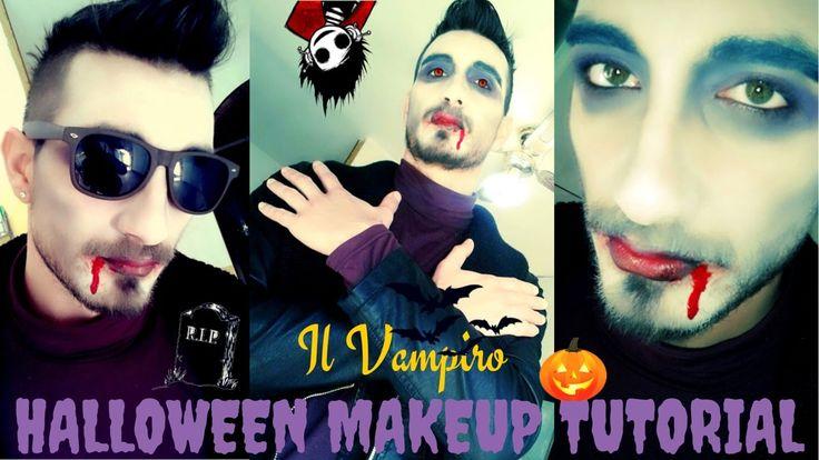 """Makeup Tutorial Halloween """"The Vampire"""" Paoletta ci mostra la sua versione di Vampiro, spero che questo video vi sia di aiuto per il vostro Halloween/Carnevale, Buon divertimento. iscrivetevi al canale, grazie. Vincenzo #makeup tutorial #halloween tutorial #halloween makeup #film horror #vampiri #vampire @succhia sangue #pipistrelli #ragnatele @ragni #paletto frassino # vampiro makeup #vampiro halloween #vampiro carnevale #maschera vampiro#trucco vampiro #vvlog81 #dolcetto scherzetto #1…"""