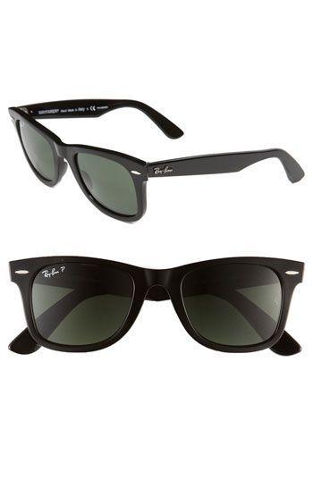 d8b9f26946b Ray-Ban Classic Wayfarer 50mm Polarized Sunglasses