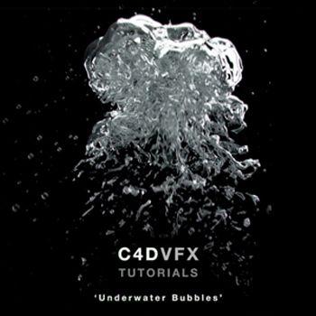 VFX / X-Particles 3 / Cinema 4D Tutorial : Underwater Bubbles
