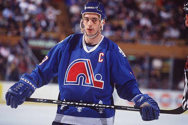 Back in 1995, the Quebec Nordiques unveiled a brand new logo and uniform designs, but, of course, they never got to wear them.
