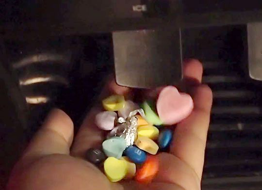 Turn your Refrigerator Ice Dispenser into a candy machine!