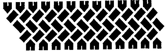 Tire track room border stencils - WOOT
