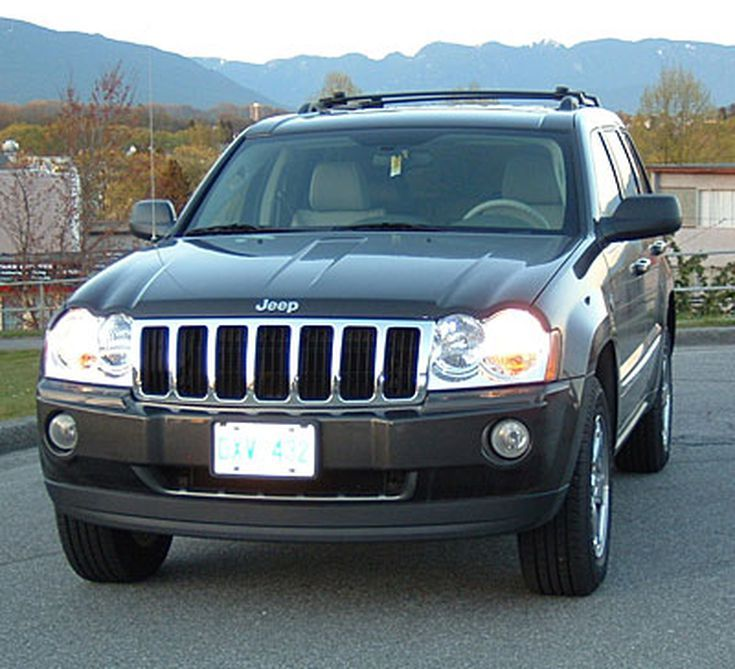 About the 2005 Jeep Grand Cherokee Limited with a Hemi Engine: First Glance at the Grand Cherokee