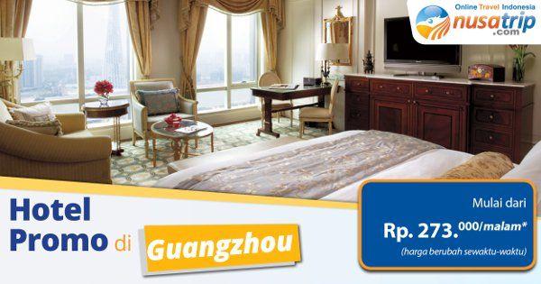 Ayo liburan ke Guangzhou dan pesan #Hotel murah di Guangzhou mulai dari Rp. 273ribu/malam (harga terus berubah)...segera pesan di #nusatrip klik http://goo.gl/tULlNM