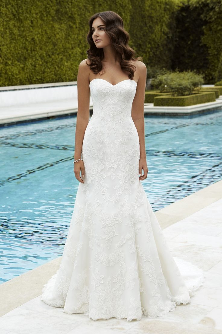 35 best Свадебные платья Enzoani images on Pinterest | Short wedding ...