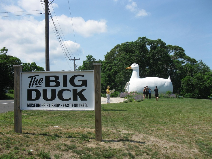 Eccentric Roadside: The Big Duck, Flanders, NY