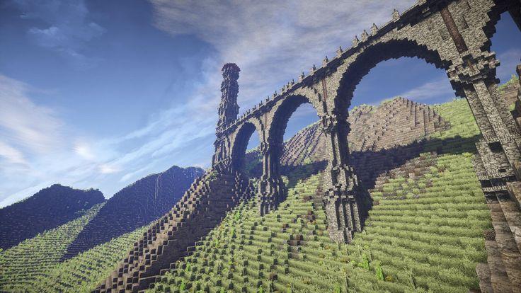 The bridge of two towers-Medieval build - Creative Mode - Minecraft: Java Edition - Minecraft Forum - Minecraft Forum