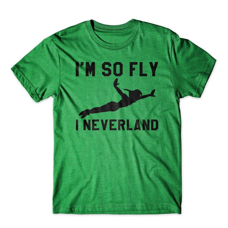 im so fly i neverland peter pan unisex t shirt