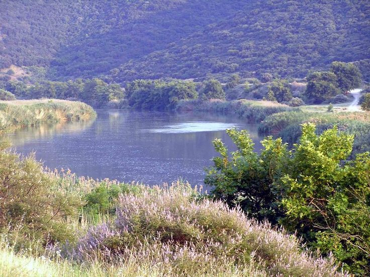 #views of Strymonas #river close to the site of #Ancient #Amphipolis #serres #macedonia #greece.