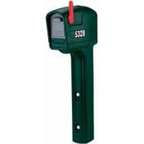 """Step 2 53280 Mail Master Trimline Mailbox 50-1/2"""", Spruce Green"""