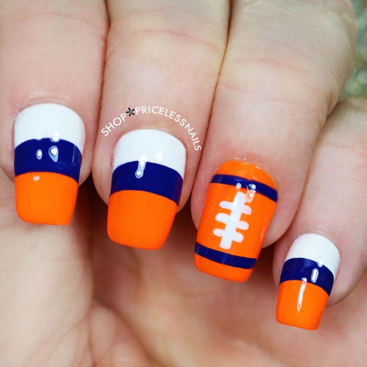 Best 25 Denver Broncos Nails Ideas On Pinterest Broncos