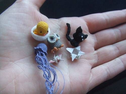 Micro Amigurumi Animals : 1000+ images about Crochet projects on Pinterest Thread ...